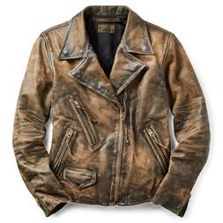$2400 RRL Ralph Lauren Limited Edition Distressed Motorcycle