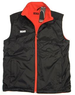 IXS BENNETT REVERSIBLE BLACK & RED MOTORCYCLE BODY WARMER MO
