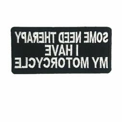 Embroidered Motorcycle Letter Pattern Sewin Iron On Patches