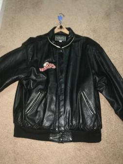 Genuine Indian Motorcycle Heavy Leather Jacket - Made in USA