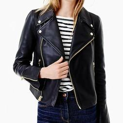 Jcrew Collection Motorcycle leather jacket