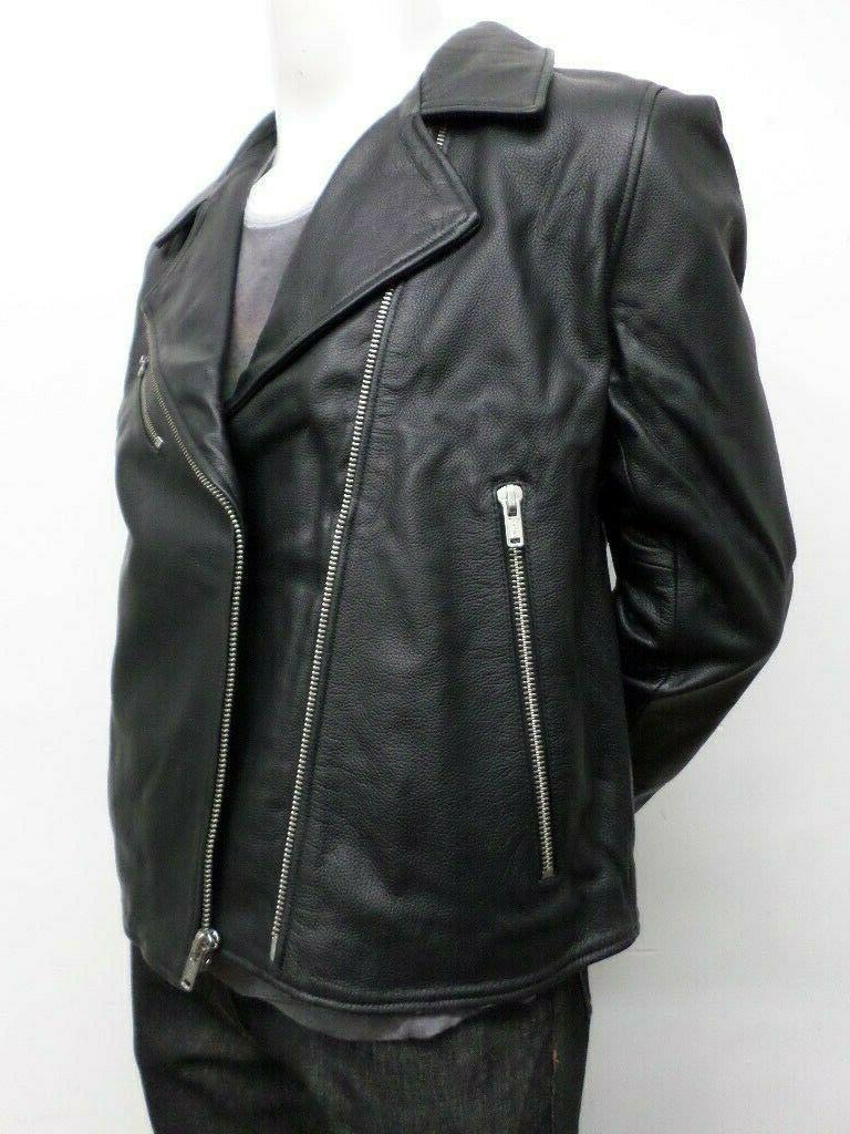 $898 & Crafted Men's Leather Jacket 2 HM991219