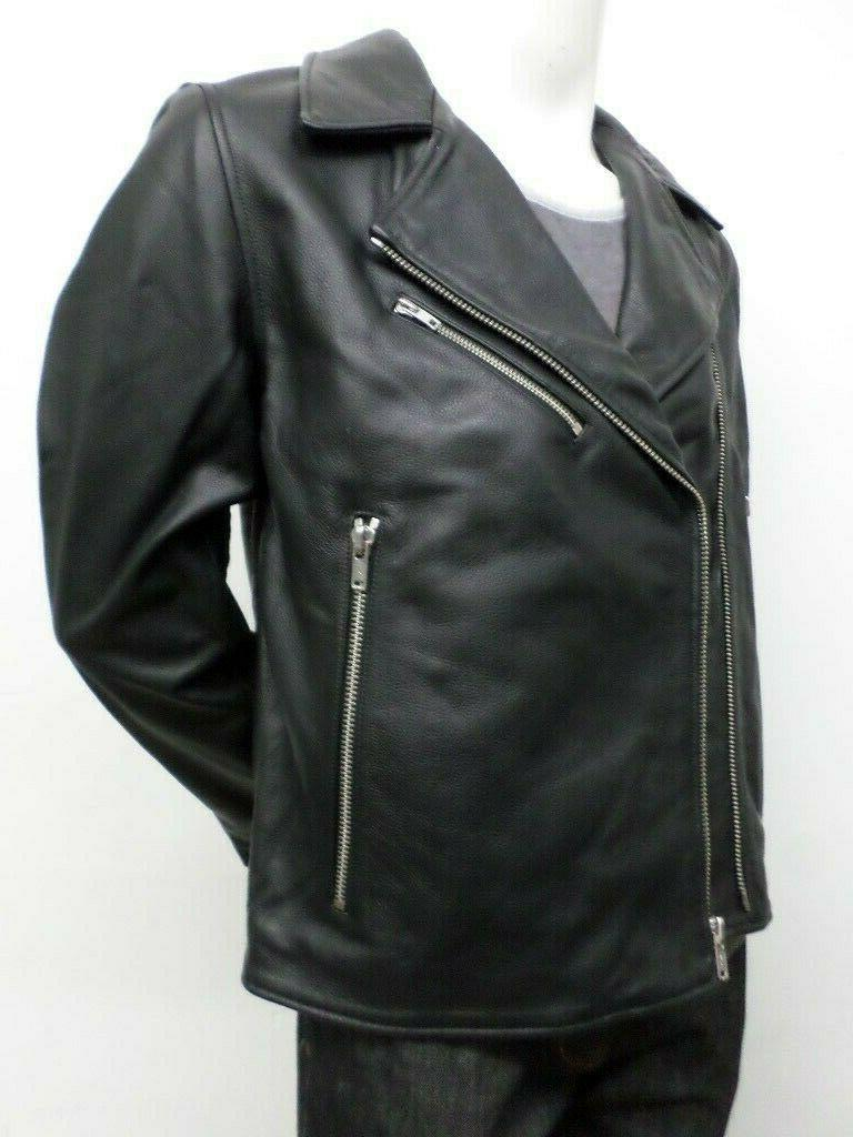 $898 Made & Crafted Leather Jacket 2