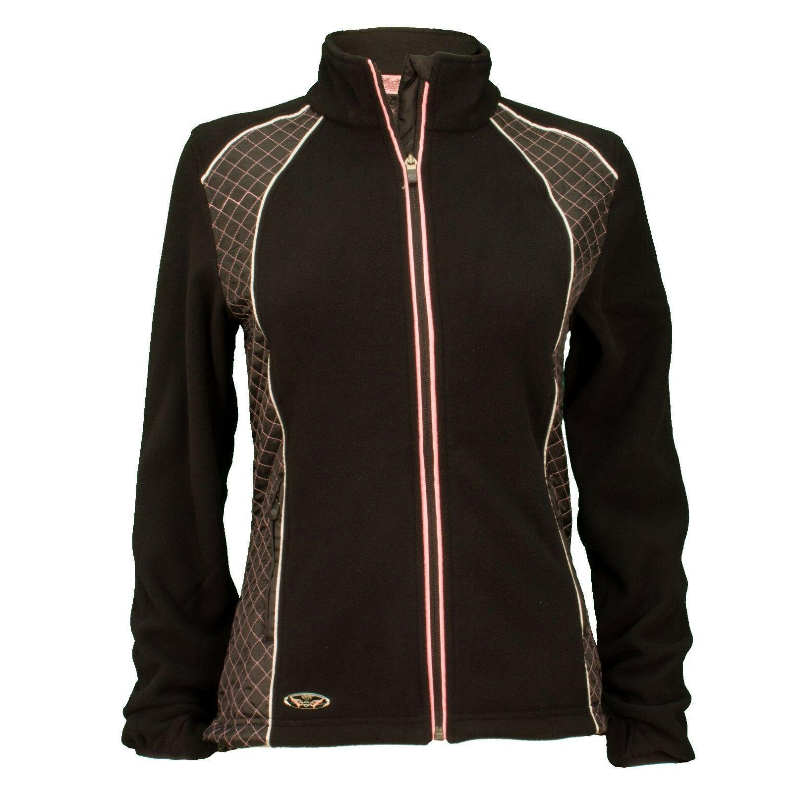 harley davidson women s pink label fleece