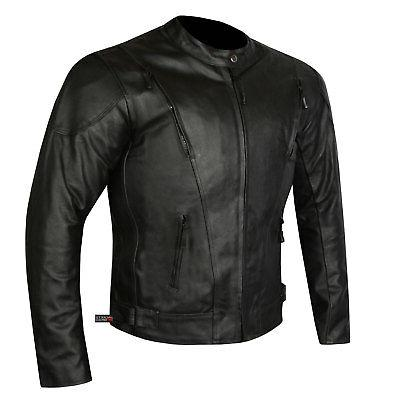 highly ventilated motorcycle leather cruiser armor touring