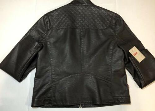 Levi's Women's Leather Motorcycle xl