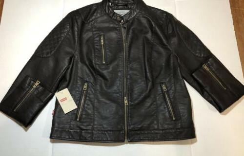 Levi's Women's Brown Leather xl