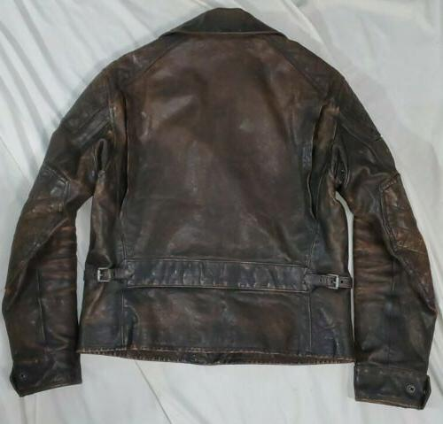 Polo Ralph Lauren Limited Edition Motorcycle Patch Leather Jacket rrl
