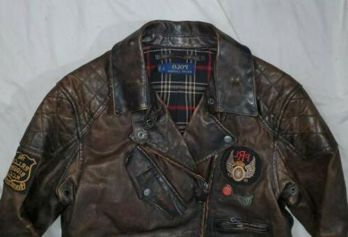 Polo Edition Leather Jacket L