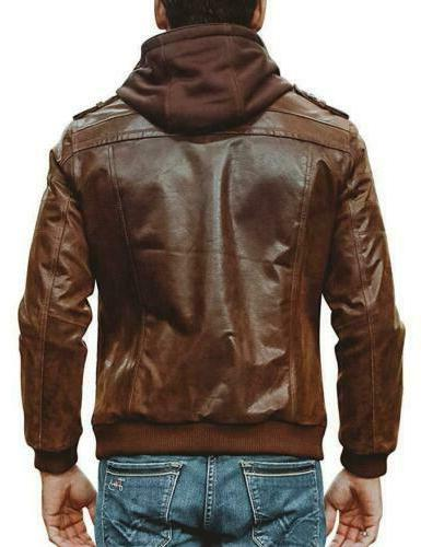 Men Brown Motorcycle with