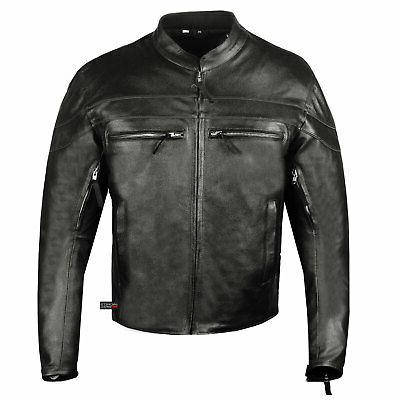 Men Throttle Motorcycle Street Cruiser CE Armor Biker