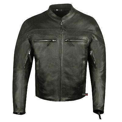 Men Throttle Motorcycle Street Armor Jacket