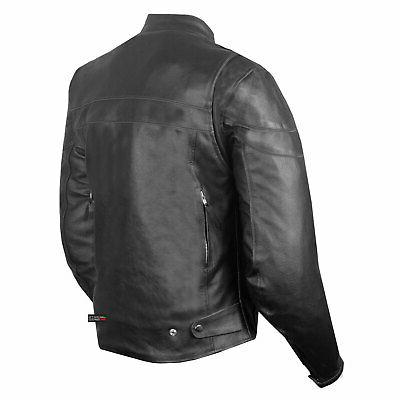 Men Throttle Classic Motorcycle Street Armor Biker