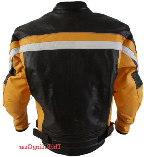 Small Motorcycle Biker Padded Cafe Racer