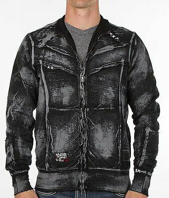 mens sweat shirt zip up jacket power