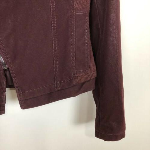 Nwt Faux Vegan Leather Cool Trend