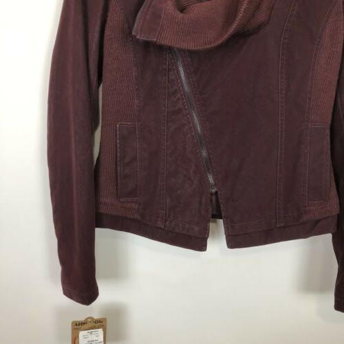 Nwt Jou Faux Suede Motorcycle