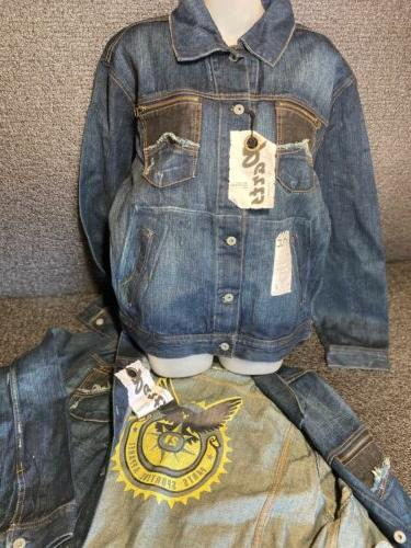 parts by machine clothing co mens demin