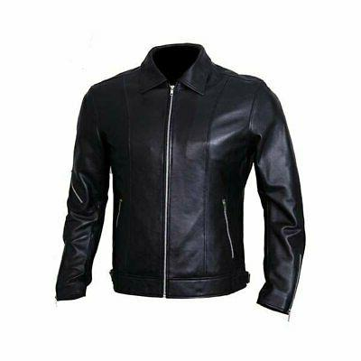 wolf pac leather jackets for men black