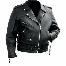 men s classic motorcycle biker jacket coat