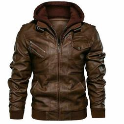 men s leather jacket flavor new casual