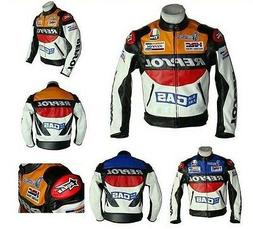 Men's REPSOL Sports Motorcycle Racing Jacket Cycling Protect