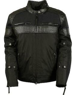 Milwaukee Leather Men's Textile Scooter Jacket - Big and Tal