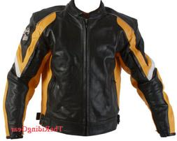 small men s real leather motorcycle biker
