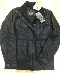 New NWT Barbour Waxed Cotton Trail Motorcycle Biker Jacket B