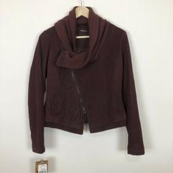 Nwt Jou Jou S Faux Suede Vegan Leather Motorcycle Jacket Coa