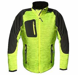 Softshell Jacket Cardigan Bike Jacket Trend Jacket Good Visi