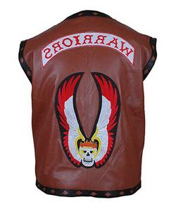 The Warriors Movie Leather Vest/ Jacket For Bike/Motorcycle