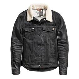 SAINT Unbreakable Jacket With Detachable Shearling Collar  M