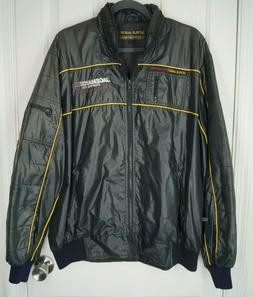Vintage Style Auto Jacket Competition Nylon size L New With